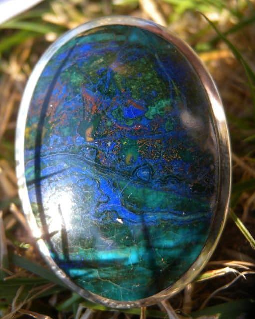 Malachite & Azurite Ring