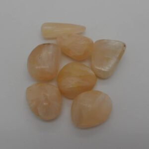 Stilbite Tumbled Stone-0
