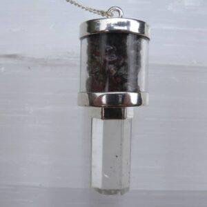 Quartz & Garnet Pendulum-0