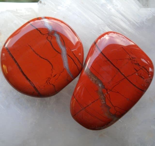 Red Jasper Hand Stone