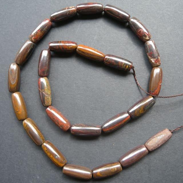 Tiger Iron Beads-0