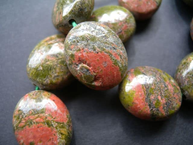 Unakite Beads-444