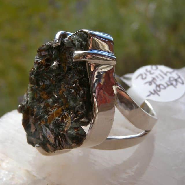 Astrophyllite Ring