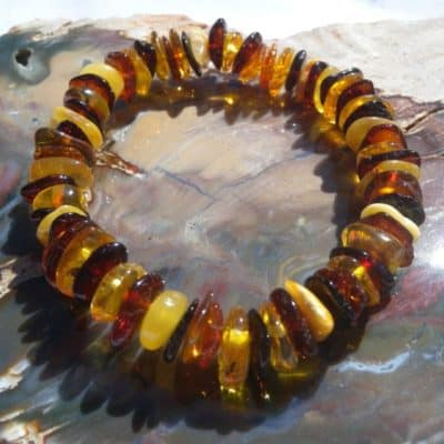 Multi Colour Amber Bracelet-0