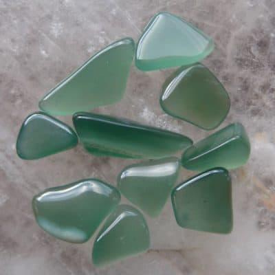 Green Chalcedony Tumbled Stone-0