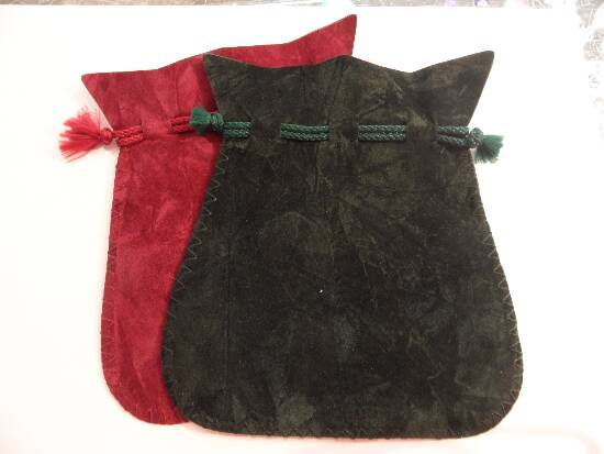 Crystal Pouch Green