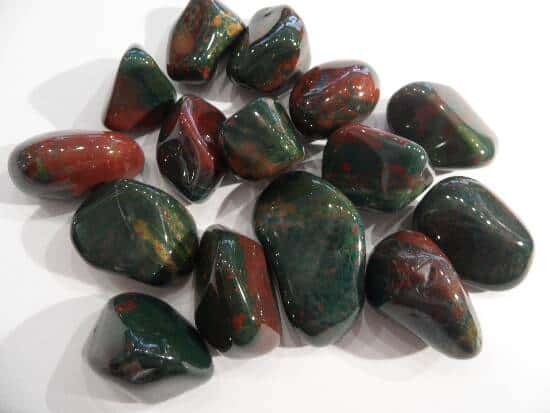 Bloodstone Tumbled Stones-0