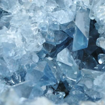 Celestite Cluster close up