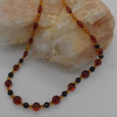 Amber Delicate Necklace-0