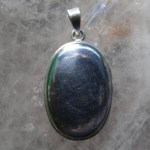 Gibeon Meteorite Pendant-0