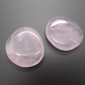Rose Quartz Flat Stone
