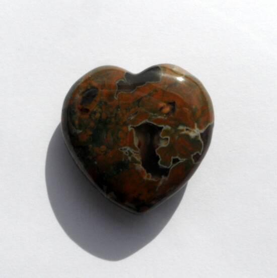 Rhyolite Heart back