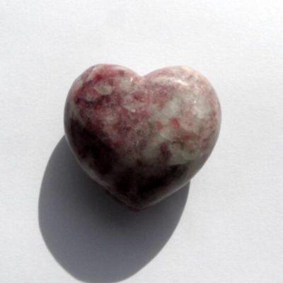Lepidolite Hearts