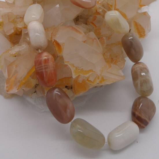 Moonstone Beads-0