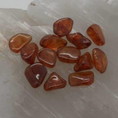 Spessartine Garnet Tumbled Stones