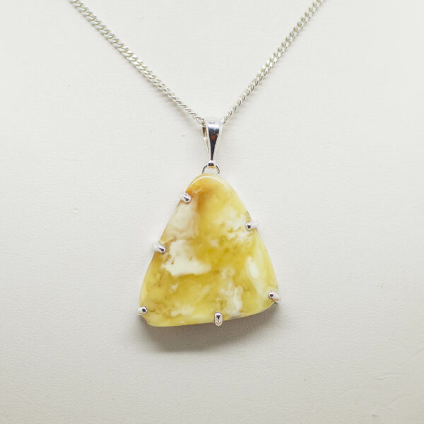 Baltic Butterscotch Amber Pendant