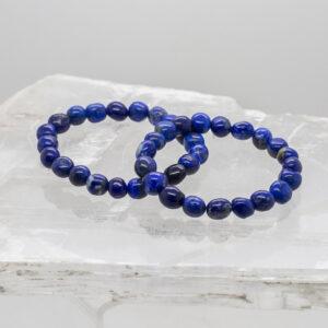 lapis lazuli bead bracelet (1)