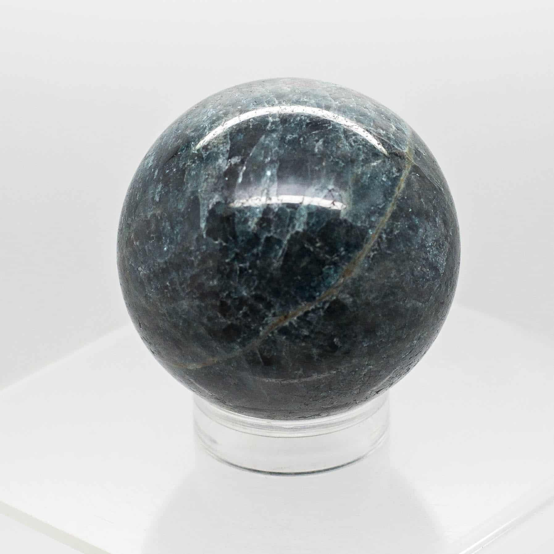 Apatite Blue Sphere 1127