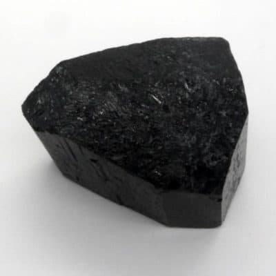 Black Tourmaline Etched Termination-0