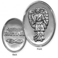Archangel Raphael Token - Oval Shape