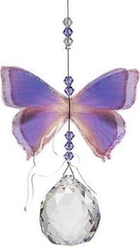 Suncatcher Butterfly Purple Azure