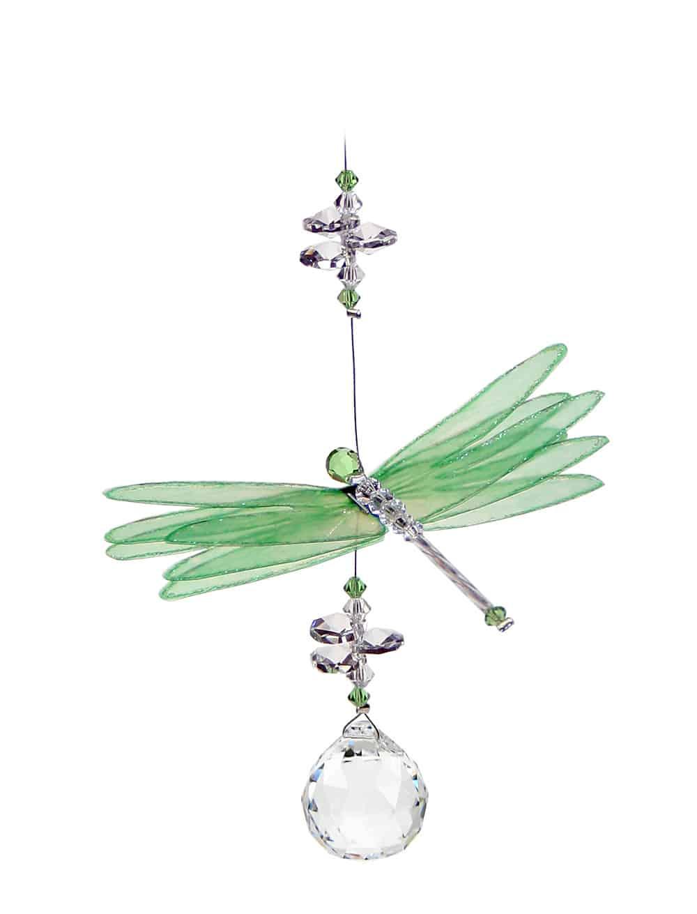 Suncatcher Dragonfly Green-0
