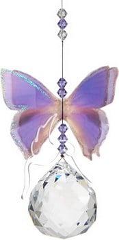 Suncatcher Butterfly Purple Azure-0