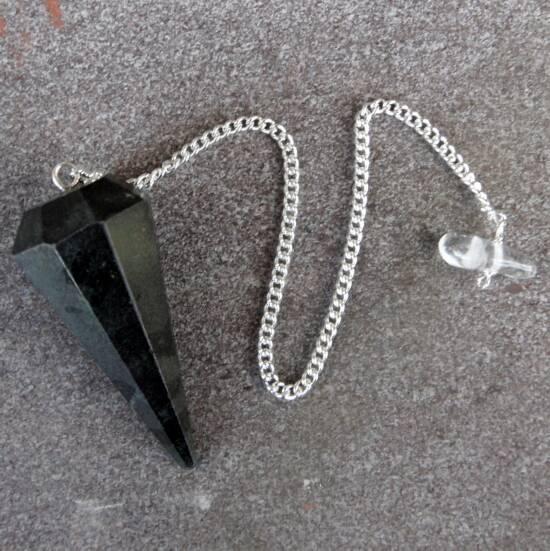 Black Tourmaline Pendulum-2765