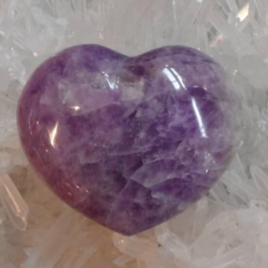 Amethyst Heart front