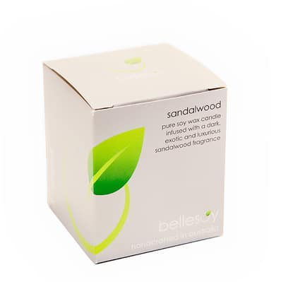Bellsoy Sandalwood Candle