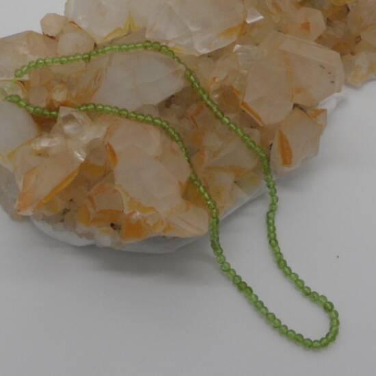 Peridot Beads 4mm