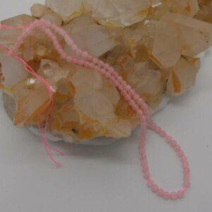 Rose Quartz Beads 4mm