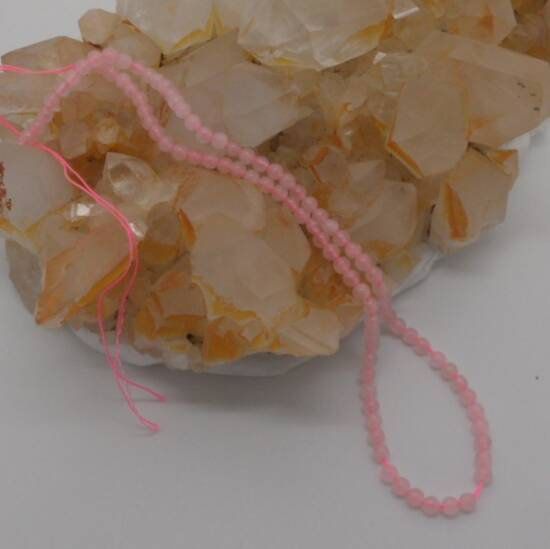 Rose Quartz Beads 4mm