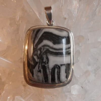 Zebra Rock Pendant