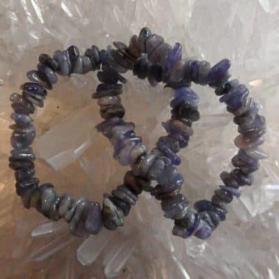 Tanzanite Chip Bracelets