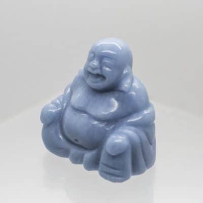 Angelite Buddha