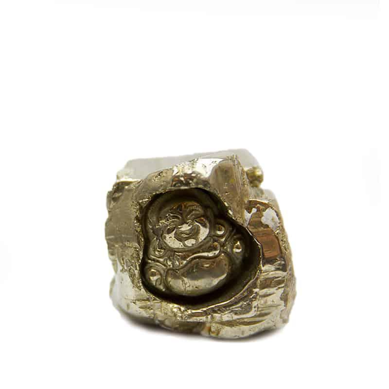 Pyrite Buddha