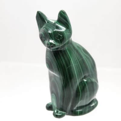 Malachite Cat front