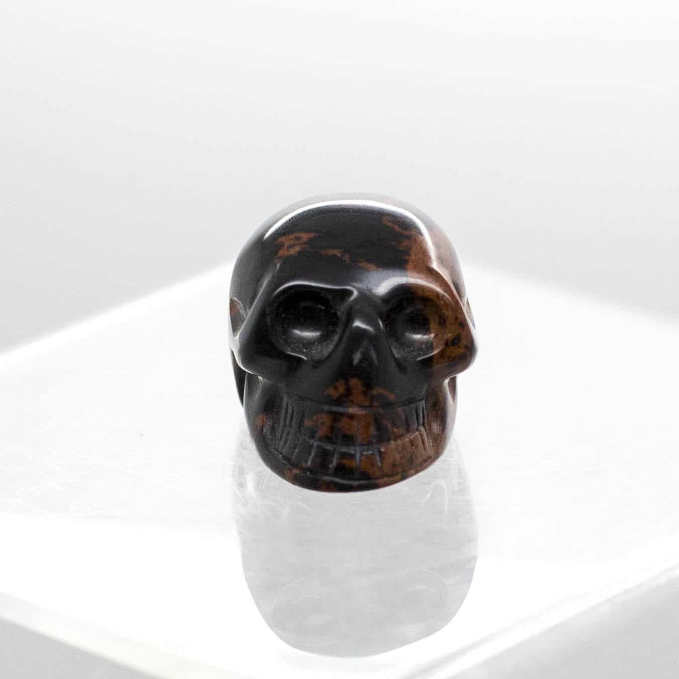 Mahogany Skull