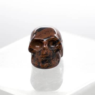 Mahogany Obsidian Skull