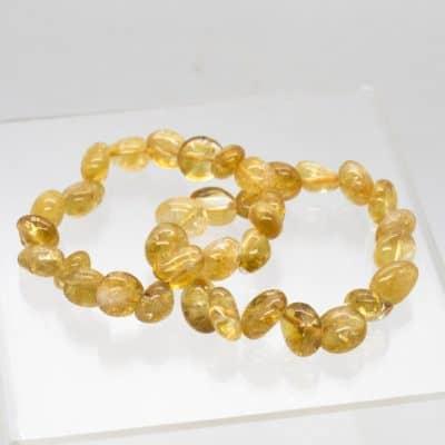 Citrine Tumbled Bracelet 2140