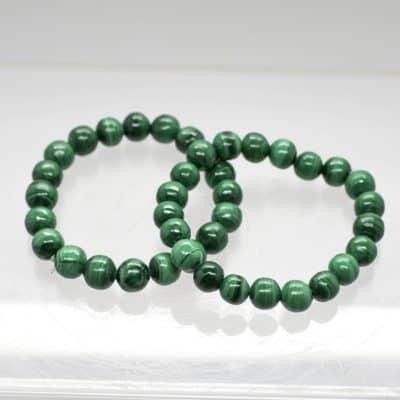 Malachite Bead Bracelet 2141