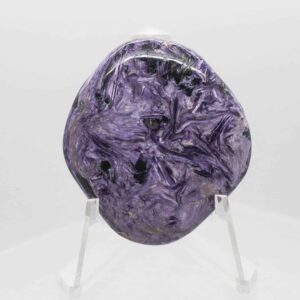 Charoite Hand Stone 2196