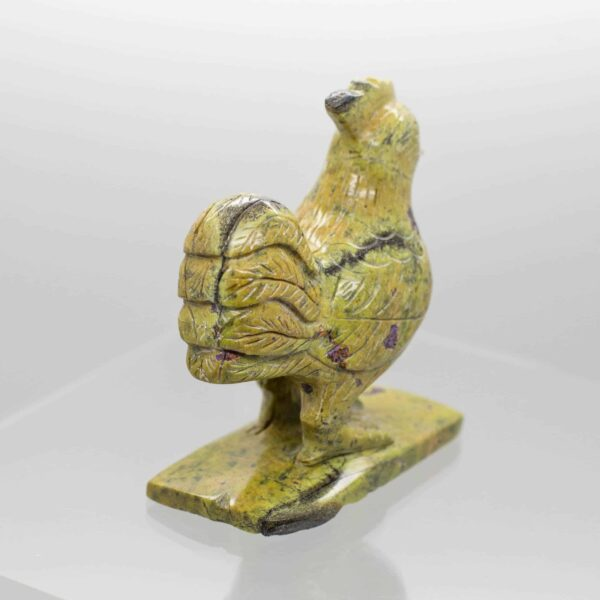 Serpentine and Stitchtite Rooster back