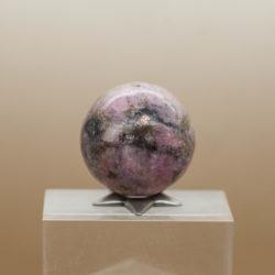 Cobaltian Calcite Salrose sphere