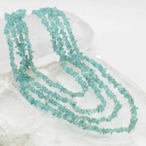 Apatite Chip Bead Necklace