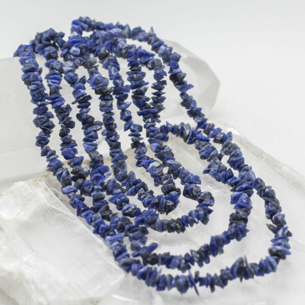 Sodalite Chip Bead Necklace