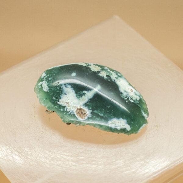 Green Chromium Chalcedony