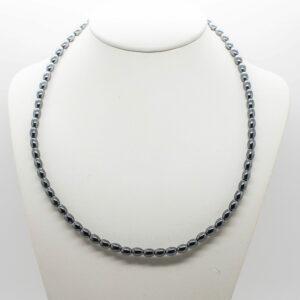 Hematite Bead Necklace