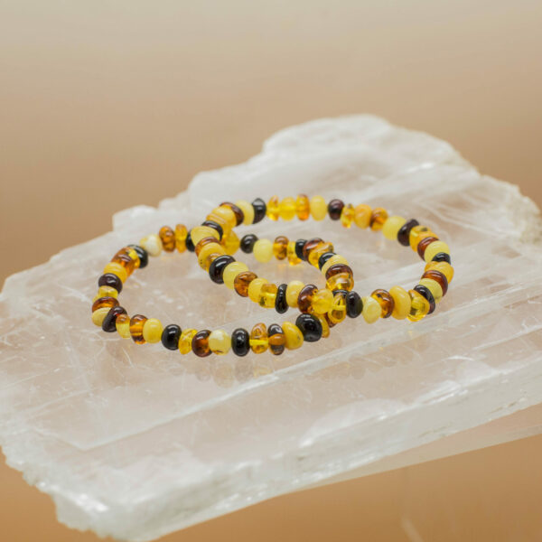 Baltic Amber Multi Colour Bracelet